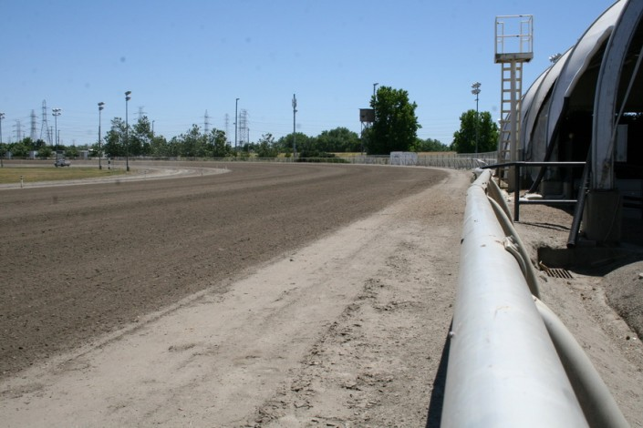 Sacramento Mile View of Turn 1
