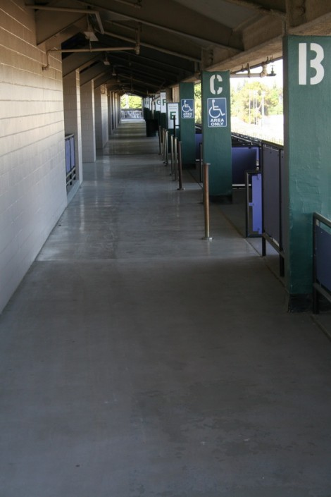 Sacramento Mile First tier mezzanine