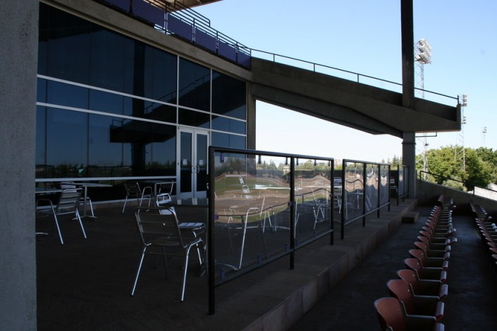 Sacramento Mile Exterior Patio in Legends Club