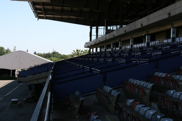 Sacramento Mile Box Seating Overview from Lounge