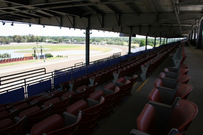 Sacramento Mile Upper Grandstands